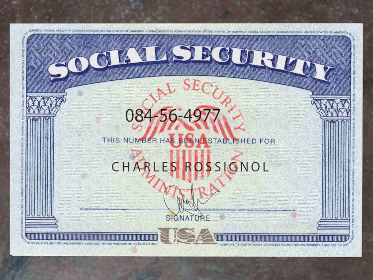 Usa Fake Ssn (Social Security Number) Card Download Psd Inside Fake Social Security Card Template Download