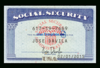 Usa Social Security Card Psd Template: Ssn Psd Template Inside 11+ Social Security Card Template Download