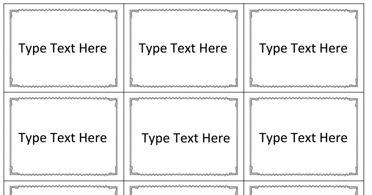 Vocabulary Games Editable Card Template.pptx Google Drive With Template For Game Cards