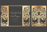 Wedding: Template Wedding Invitation Svg Intended For Silhouette Cameo Card Templates